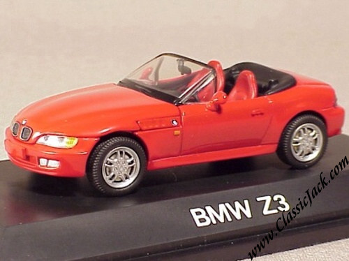 Schuco Bmw Z3 Roadster Red 1 43 Diecast Scale Model