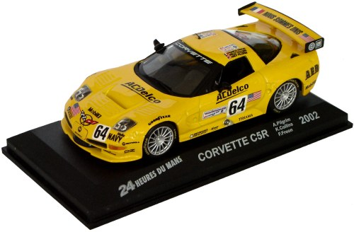 2002 Chevrolet Covette C5-R - Pilgrim / Collins / Freon - Le Mans