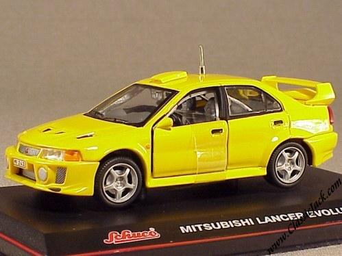 1//43 Scale Mitsubishi Lancer EVO  Diecast Model Car