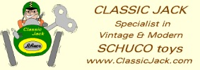 Classic Jack Vintage Tin Toy Shop and Schuco Specialist