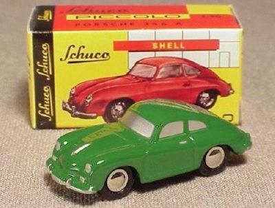 Porsche 356a Coupe. Schuco Piccolo Porsche 356A